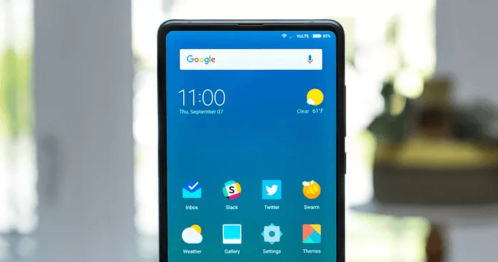 mi mix 2 features