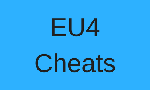 eu4 cheats